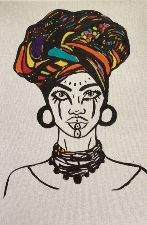 African lady 1, image 3