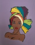 African Lady 4
