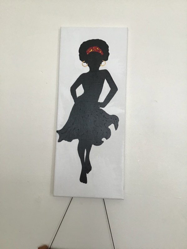African lady 5: Sassy Lady