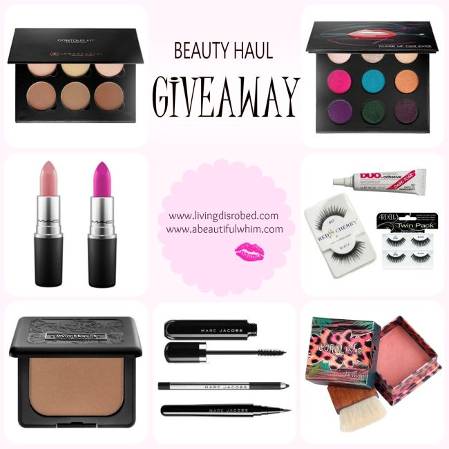 beauty haul makeup giveaway