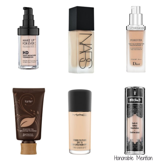 Best beauty products - foundations