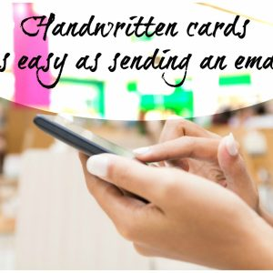 Handwritten Cards Service Bond