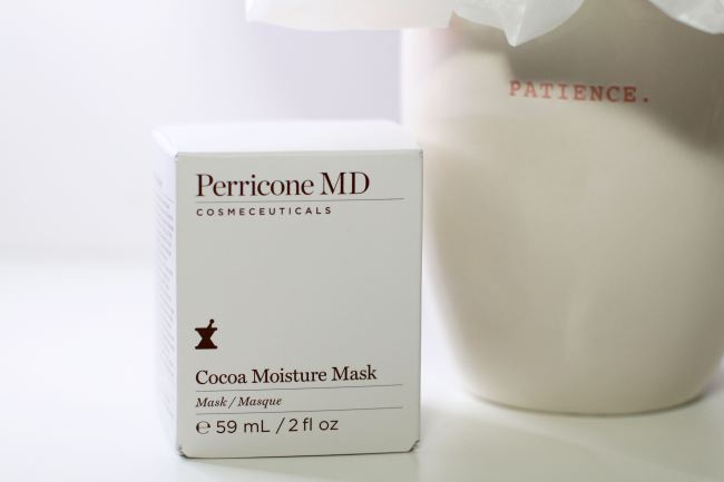 Review Cocoa Moisture Mask Perricone MD
