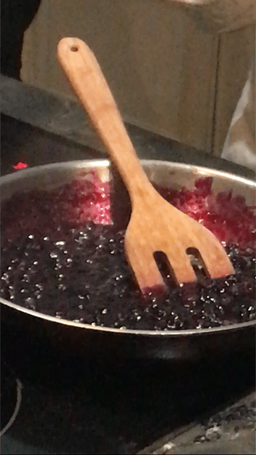 Sugarless Sugar Blueberry Jam