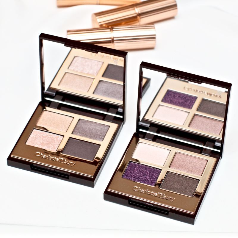 Charlotte Tilbury eyeshadow quads review