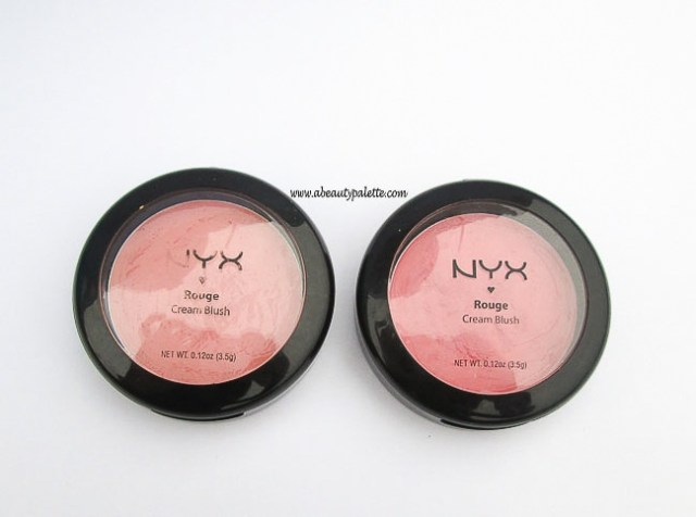 NYX Rouge Cream Blush in Natural, Glow- Review & Swatches