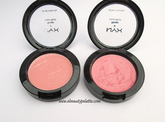 NYX Rouge Cream Blush in Natural & Glow-