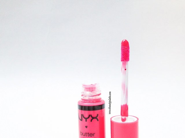 NYX Butter Gloss- Cupcake Review, Swatches