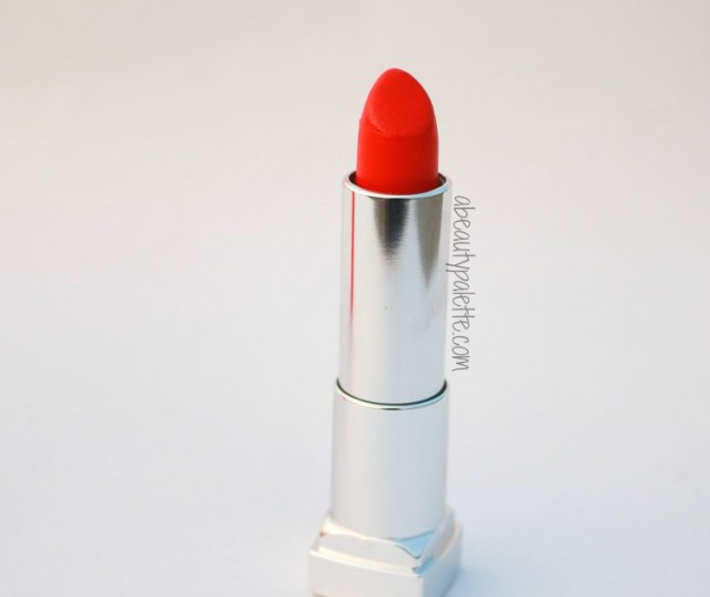 Maybelline Rebel Bouquet Lipstick REB05 Review