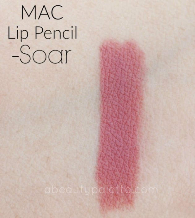 MAC Lip Pencil- Soar: Review, Price In India, Swatches