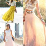 Style Inspiration: 15 Ways To Style A Maxi Skirt
