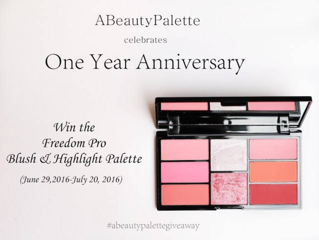 One Year Anniversary Giveaway