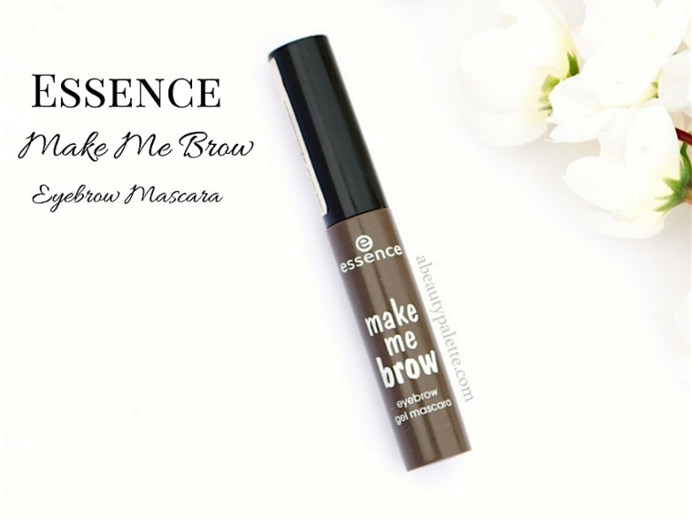 Essence Make Me Brow Eyebrow Mascara Review India