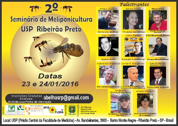 Meliponicultura é destaque em seminário na USP Ribeirão