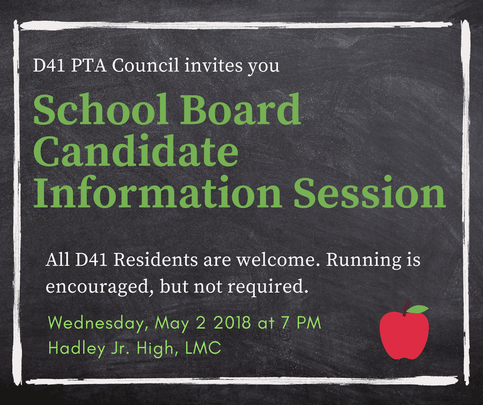 PTA Council Meeting Summary – 4/30/2018