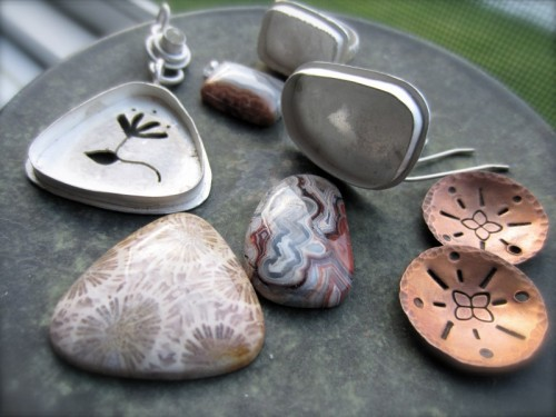 Sterling silver Jewelry waiting to be polished