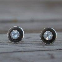 Sparkling Gemstone post earrings