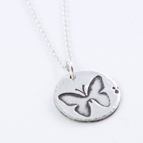 Woodland Butterfly Necklace
