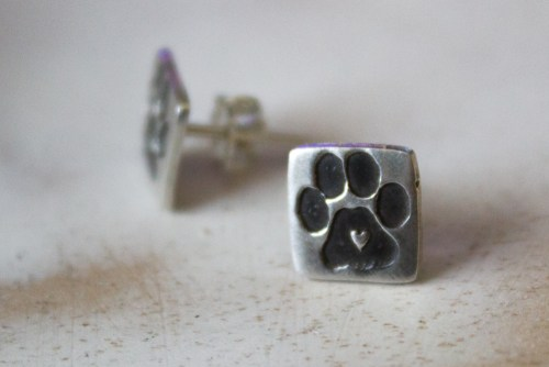 Dog lover earrings