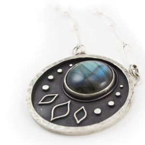 Luna Necklace by Abella Blue