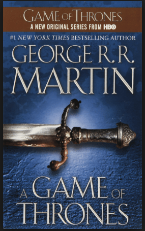 Recommendation: A Game of Thrones