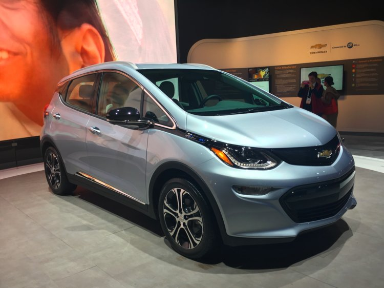 The Bolt EV is going into production this year.