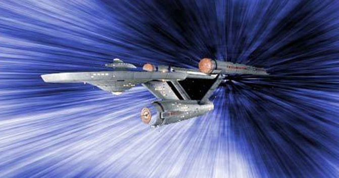 Starship-Enterprise-Warp-Speed