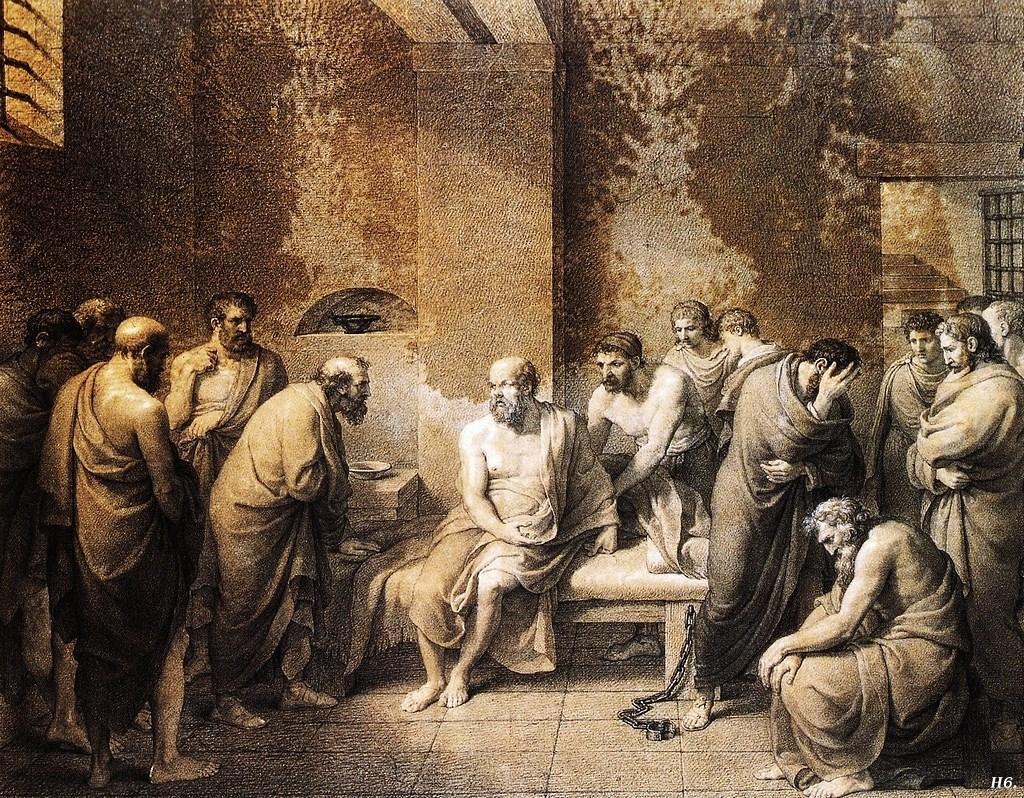להלך בכיכר העיר באתונה ולשוחח עם סוקרטס