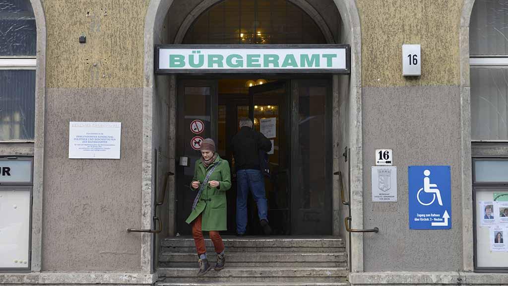 Steglitz-Zehlendorf: So arbeiten die Ämter im Notbetrieb