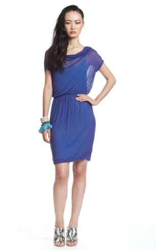 Cocktailkleid königsblau, Tracy Reese