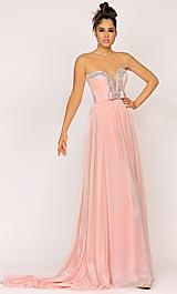 Abendkleid rosa, lang - Lexus