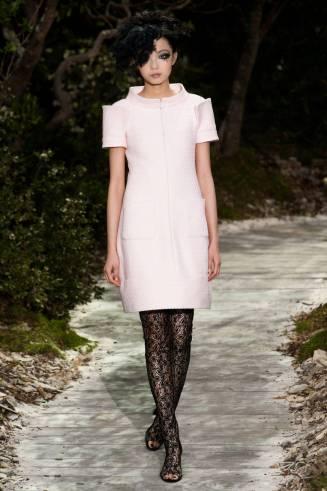 Chanel Kleid weiß