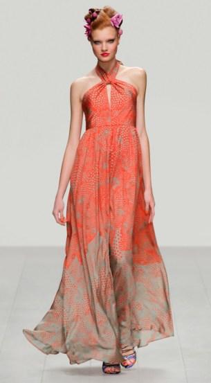 Issa Seidenkleid, Abendkleid 2013