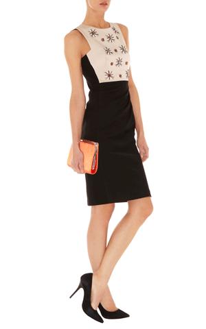 Kleid mit Perlenstickerei, Karen Millen