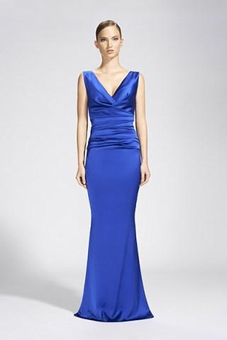 Talbot Runhof Abendkleid königsblau