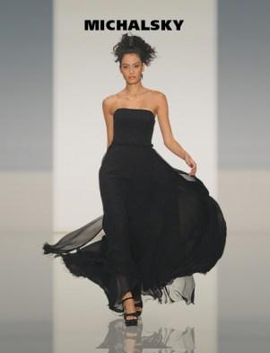 MICHALSKY Abendkleid schwarz