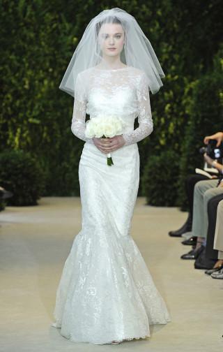 newest collection ef49f 0aa87 Brautmode New York - Hochzeitskleider Carolina Herrera 2014 ...