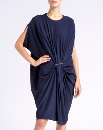 LANVIN Kleid mitternachtsblau
