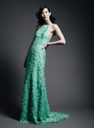 Meissen Couture - Red Carpet Kleid