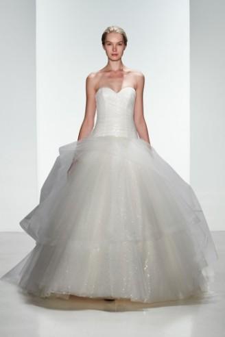 Brautkleid mit Tüllrock KENNETH POOL Brautcouture - Hochzeitskleider 2016