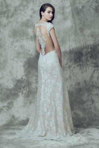 Brautkleid Rückansicht - Demetrios