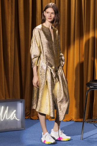 Stella McCartney 2018 - nachhaltige Mode bei Abendkleidern