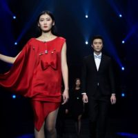 Pierre Cardin - Fashion Show in Peking