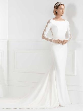 Meerjungfrau Brautkleid bestickt - Franc Sarabia Brautkleider
