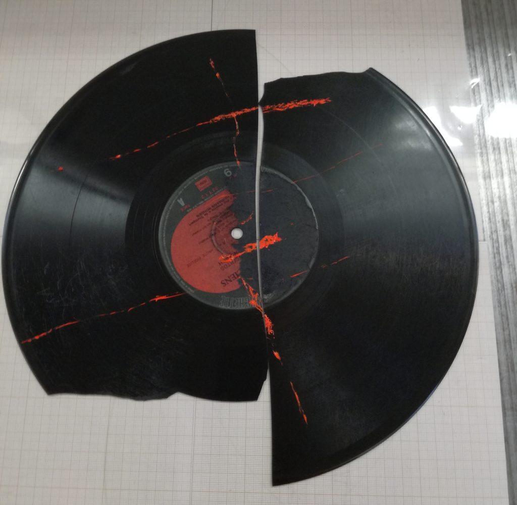 Matrice en vinyle