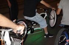 Sämtliche Fahrradvariationen fahren mit