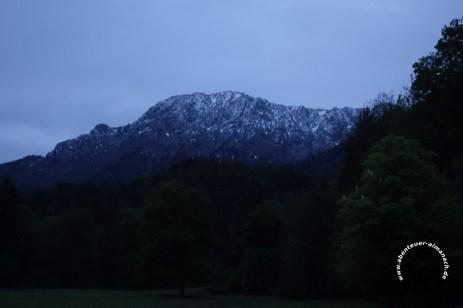 Herzogstand im Morgengrauen