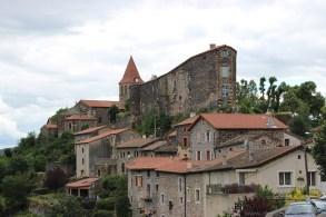 Nach knapp 25 Kilometern sahen wir endlich St. Privat d'Allier.