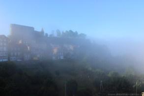 Nur wenige Minuten später zogen Nebelschwaden durch das Dorf.
