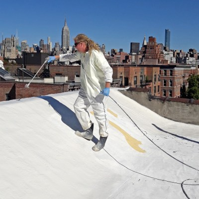 New York roof coating